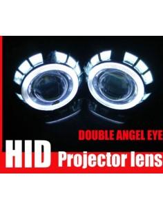 DOPPIO Angel Eyes LED 2 x 10cm 2 x 7,5cm cover z99
