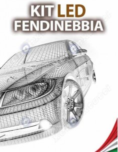 KIT FULL LED FENDINEBBIA per TOYOTA Auris MK1 specifico serie TOP CANBUS