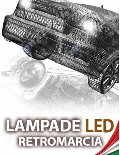 LAMPADE LED RETROMARCIA per TOYOTA Auris MK1 specifico serie TOP CANBUS