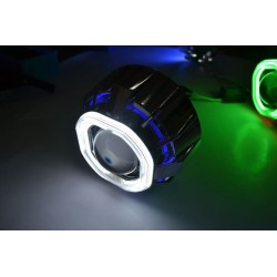 2 Angel Eyes LED COB 8x8,5 cm cover Z129