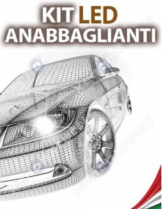 KIT FULL LED ANABBAGLIANTI per TOYOTA Aygo II specifico serie TOP CANBUS