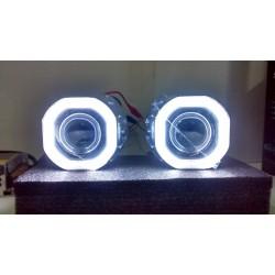 2 Angel Eyes LED COB 8x8,5 cm cover Z129