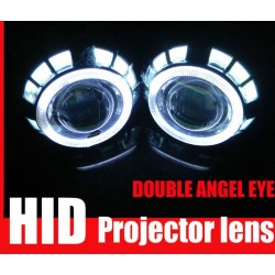 DOPPIO Angel Eyes LED 2 x 10cm 2 x 7,5cm cover z99