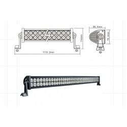 LED WORKING LIGHT 240W 9/32V PROFONDITA O DIFFUSO
