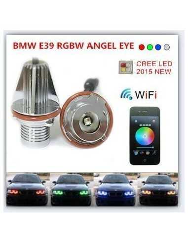 ANGEL EYES RGB WI-FI LAMPADE LED BMW 10 W E39 E53 E60 E61 E63 E64 E65 E66 X3