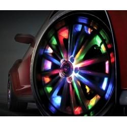 KIT 4 LED DA RUOTA RGB SOLARE TUNING LED