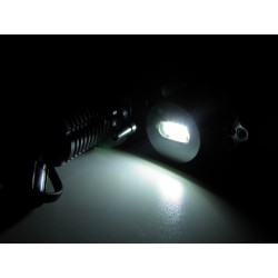COPPIA DI LAMPADINE LED,ANGEL EYES PER BMW SERIE 3 E90 E91 6000K 40W