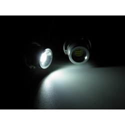 ANGEL EYES LAMPADA LED BMW 45 W E39 E53 E60 E61 E63 E64 E65 E66 X3 DOPO 08