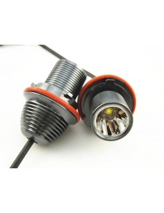 ANGEL EYES LAMPADA LED BMW 10W E39 E53 E60 E61 E63 E64 E65 E66 X3 DOPO 08
