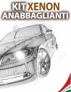KIT XENON ANABBAGLIANTI per PEUGEOT Bipper specifico serie TOP CANBUS