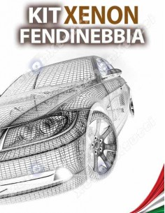 KIT XENON FENDINEBBIA per TOYOTA Auris MK1 specifico serie TOP CANBUS