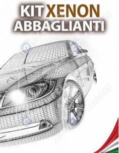 KIT XENON ABBAGLIANTI per VOLKSWAGEN Touran V2 specifico serie TOP CANBUS