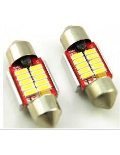 LED FESTOON  SILURO 10 LED  CANBUS 4011 31MM