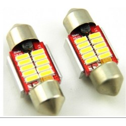 LED FESTOON  SILURO 10 LED  CANBUS 4011 31MM