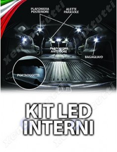 KIT FULL LED INTERNI per OPEL Meriva B specifico serie TOP CANBUS