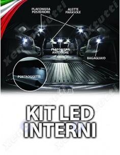 KIT FULL LED INTERNI per RENAULT CAPTUR specifico serie TOP CANBUS