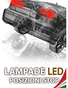 KIT FULL LED POSIZIONE E STOP per TOYOTA Auris MK1 specifico serie TOP CANBUS