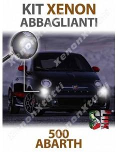 KIT XENON ABBAGLIANTI per ABARTH 500 ABARTH 595 695 specifico serie TOP CANBUS