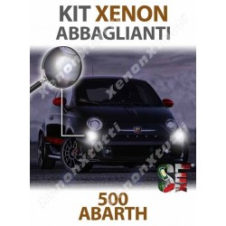 KIT XENON ABBAGLIANTI per ABARTH 500 ABARTH 595 695 specifico serie TOP CANBUS