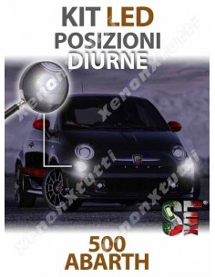 LAMPADE LED LUCI Posizioni diurne per ABARTH 500 ABARTH 595 695 specifico serie TOP CANBUS