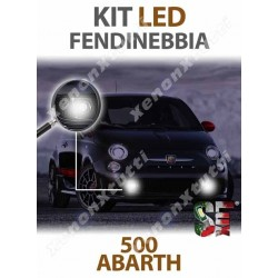Lampade LED Fendinebbia H3 500 ABARTH 595 695 specifico serie TOP CANBUS
