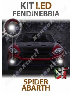 KIT FULL LED FENDINEBBIA per ABARTH 124 SPIDER specifico serie TOP CANBUS