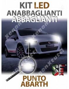 KIT FULL LED Anabbaglianti Abbaglianti per ABARTH GRANDE PUNTO specifico serie TOP CANBUS