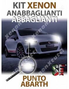 KIT XENON ANABBAGLIANTI ABBAGLIANTI H4 per ABARTH GRANDE PUNTO specifico serie TOP CANBUS