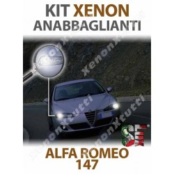 KIT XENON ANABBAGLIANTI per ALFA ROMEO 147 specifico serie TOP CANBUS