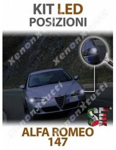 LAMPADE LED LUCI POSIZIONE per ALFA ROMEO 147 specifico serie TOP CANBUS