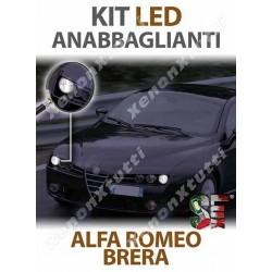 KIT FULL LED ANABBAGLIANTI per ALFA ROMEO BRERA specifico serie TOP CANBUS