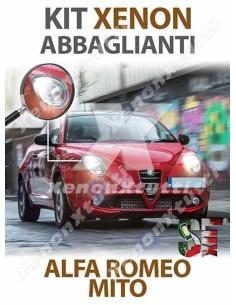 KIT XENON ABBAGLIANTI per ALFA ROMEO MITO specifico serie TOP CANBUS