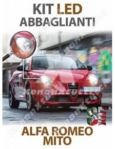 KIT FULL LED ABBAGLIANTI per ALFA ROMEO MITO specifico serie TOP CANBUS