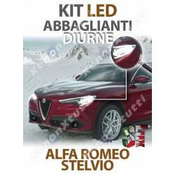 KIT FULL LED ABBAGLIANTE DIURNO ALFA ROMEO STELVIO