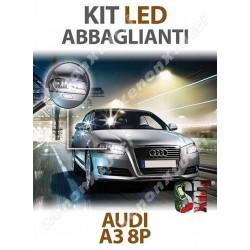 KIT FULL LED ABBAGLIANTI AUDI A3 8P 8PA