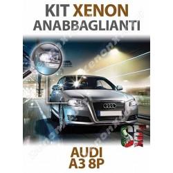 KIT XENON ANABBAGLIANTI AUDI A3 8P 8PA