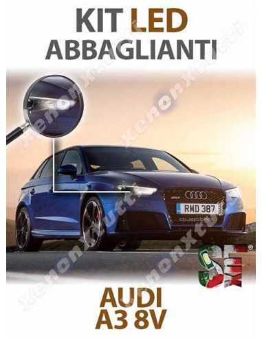 KIT FULL LED ABBAGLIANTI E DIURNE AUDI A3 8V SPECIFICO