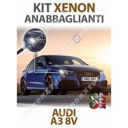 KIT XENON ANABBAGLIANTI AUDI A3 8V