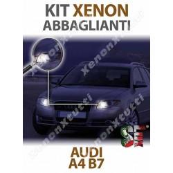 KIT XENON ABBAGLIANTI AUDI A4 B7