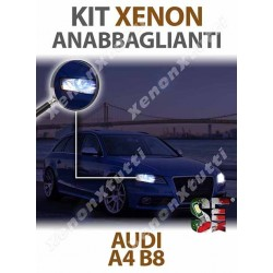 KIT XENON ANABBAGLIANTI AUDI A4 B8
