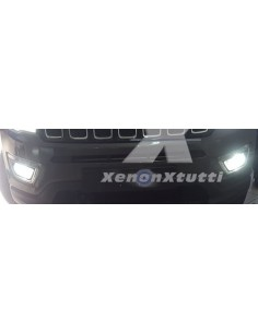 kit led specifico jeep compass 2 fendinebbia canbus