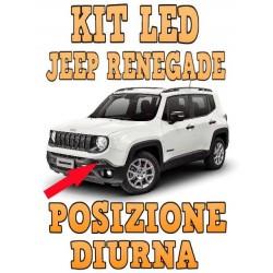 LED POSIZIONE DIURNA jeep renegade