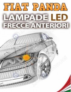 FIAT Panda III LAMPADE LED FRECCIA ANTERIORE