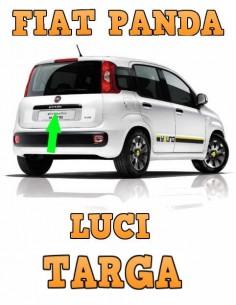 FIAT Panda III LUCI TARGA Plafoniera