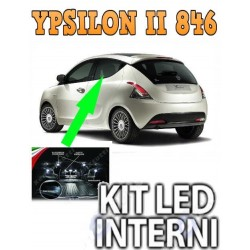KIT FULL LED INTERNI PLAFONIERA FIAT PUNTO MK2 II RESTYLING