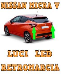 NISSAN Micra V LED RETROMARCIA