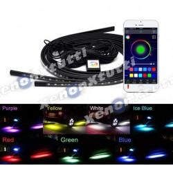 LED SOTTOSCOCCA RGB CON WIFI APP 4 STRIP 90 CM 120 CM