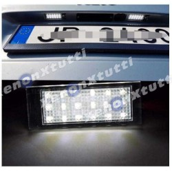 LAMPADE LED LUCI TARGA per SMART Fortwo III 453 specifico serie TOP CANBUS