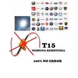 Led T15 Super Canbus T15 W16w 16w Reali No Error 100%