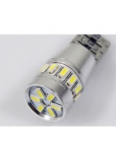 COPPIA 2 LED T10 CANBUS 24SMD 4014